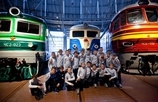 The Zenit Academy visiting the Russian Railway Museum