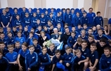 Vladimir Savin take a look around the Gazprom Academy