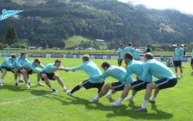 Video of the day at the «Zenit TV»: 12 new exercises by Mircea Lucescu, you can also try