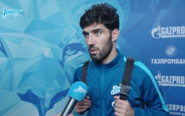 Lu?s Neto at the «Zenit TV»: «We have helped to positive emotions after the victory in Israel'