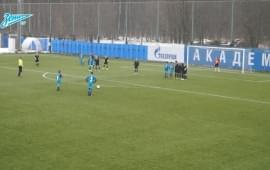 Video of the day from Zenit TV: Danny kids' free kick goal