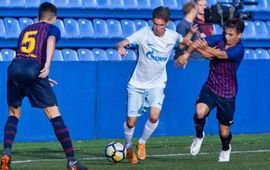 Highlights of Zenit U16s v Barcelona Juvenil B from Zenit-TV