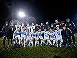 Zenit U-17 won the St. Petersburg youth championship