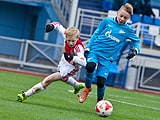 The Ajax Academy defeat Zenit to win the Besov Cup