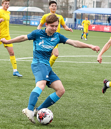 Zenit U17s win their 19th game in a row as they see off Rostov