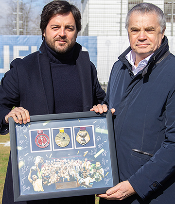 The blue-white-sky blues thank Javier Ribalta for his time with the club