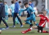 Zenit U14s finish runners-up in the Russian championship