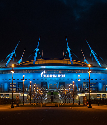 UEFA confirm that the Gazprom Arena will have a minimum 50% capacity at Euro 2020