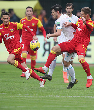 Photos report from Arsenal Tula v Zenit