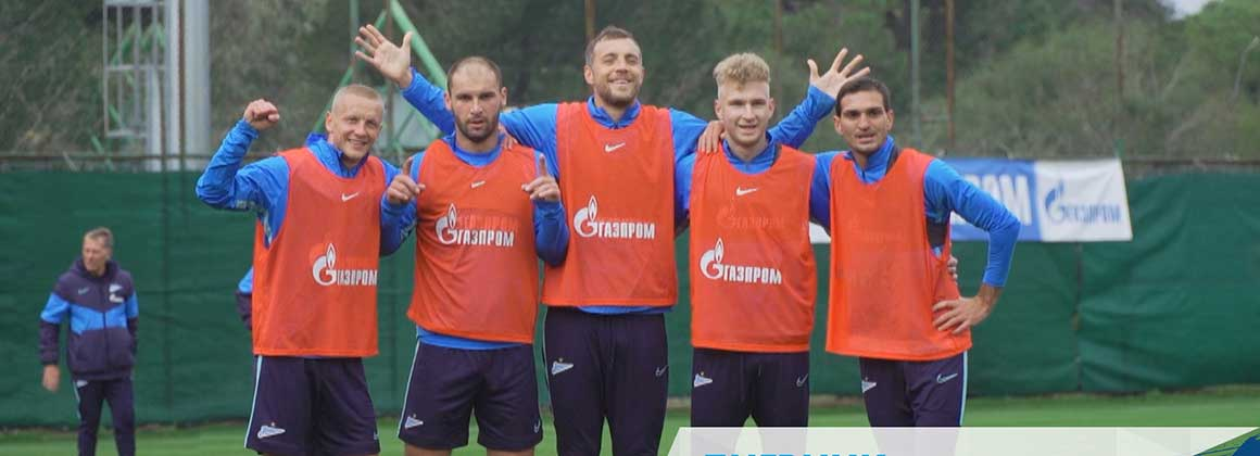 Zenit-TV's Camp Diary: Four on four in training