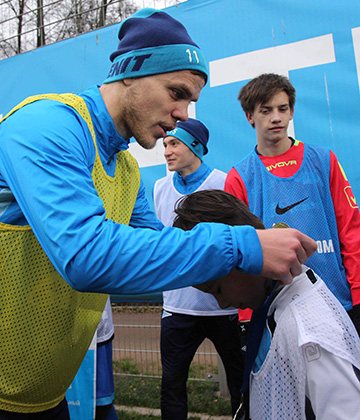 "Alexander Kokorin: ""I've had a number of fitness tests and I passed them all"""