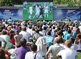 Zenit-TV: Zenit fan zone on New Holland Island in St. Pete
