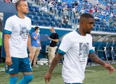 The Club donates its tribute t-shirts to the medical families