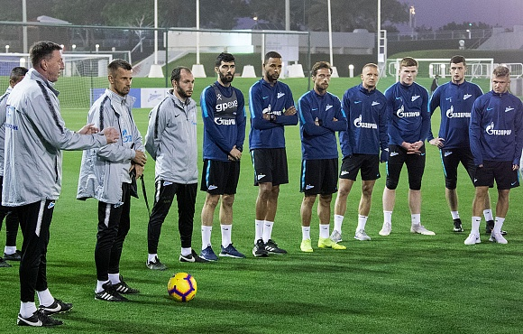 Fenerbahce v Zenit: Open training session in Istanbul later today