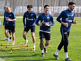 Zenit-TV at open training at the Gazprom Training Centre