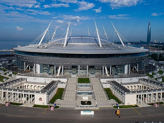 Take a tour of the Gazprom Arena!