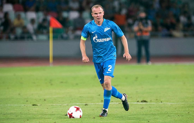 Alexander Anyukov sets a club record for appearances as captain