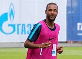"Hernani: ""I am focused on playing my best football and winning titles in a Zenit shirt"""