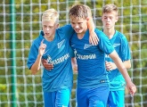 Two Zenit U14s players called up by Russia for the first time
