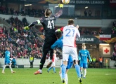Highlights of Slavia Prague v Zenit from the Eden Arena