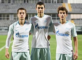 Four Gazprom Academy players make their debut for Zenit-2