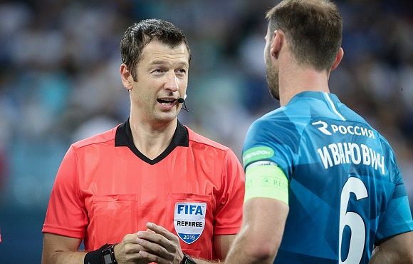 Referee appointment made for Zenit v Akhmat