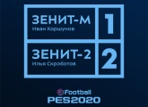 Gazprom Academy take on Zenit-2 at PES 2020