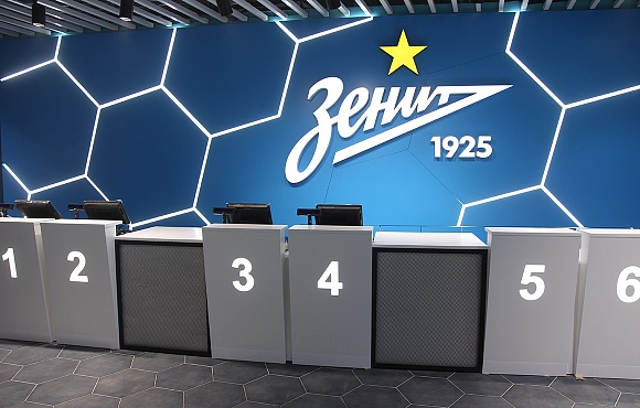 New club store at the Gazprom Arena