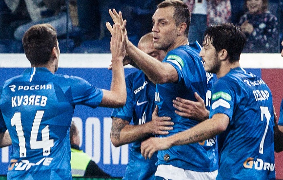 Zenit cruise past Dynamo to take the points