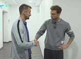 Zenit TV follow Marchisio and his first day at the Gazprom Training Centre