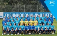 Official Zenit team photo 2017/18
