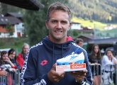 Domenico Criscito collected his G-Drive player of the season award