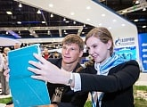 Andrey Arshavin attended the St. Petersburg International gas forum