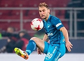 Branislav Ivanovic scores the first ever goal at the new Stadium St. Petersburg