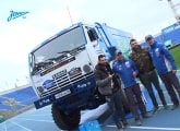 Zenit-TV: Test driving the KAMAZ-Master at the Petrovsky