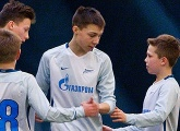 Ilya Kirsha's goal for Zenit U14s from the middle of the park