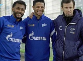Zenit-TV: Wendel's at the Gazprom Training Centre for the first time