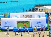Zenit and Gazprombank hold the Grand Football Festival in Sochi