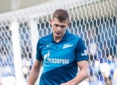 Stanislav Krapukhin makes his debut for the Zenit first team