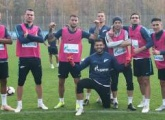 Zenit are back in training for the match with Dynamo Moscow