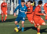 Photos from the Zenit v Ufa youth game