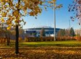 Autumn around St. Petersburg Stadium