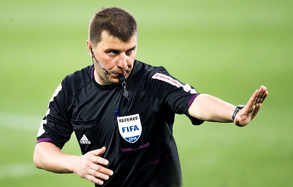 Referee appointment made for Zenit v Anzhi