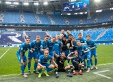 Photos from Zenit U19s at the Gazprom Arena