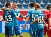 Zenit U19s win their final game of the season at the Gazprom Arena
