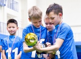 Photos from the Under-9s Championships at the Gazprom Academy