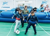 Photos from the Big Festival of Football in Tyumen