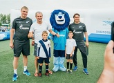 Photos from the Big Festival of Football in Krasnoyarsk