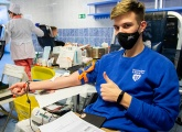 Photos from Zenit's blood donation day
