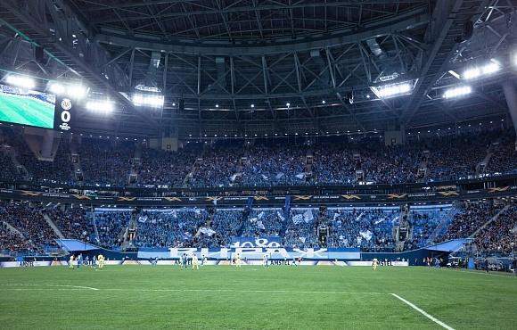 Zenit set a new club record for European games